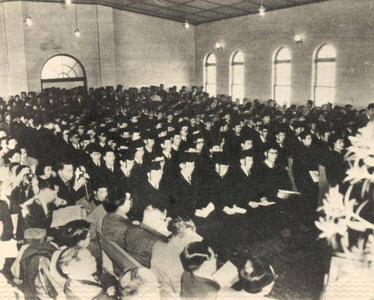 1950 <strong>Graduation</strong>
