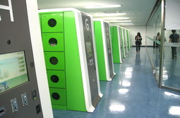 9 F <strong>Electronic Lockers</strong>